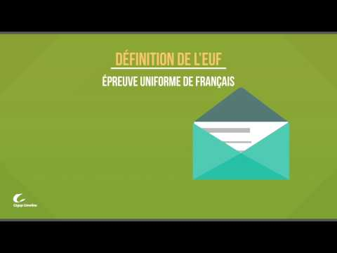 Qu'est-ce que l'EUF? | Cégep Limoilou