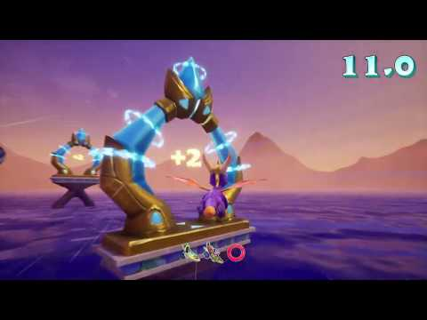 Spyro 2 Ripto's Rage Reignited Trilogy 100% Guide Ocean Speedway and Crush