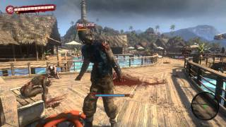 How to Kill a Thug in Dead Island WITH YOUR BARE HANDS!