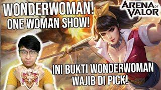 INI BUKTINYA! Alasan Wonderwoman Sering dipake di Turnamen! - Arena of Valor