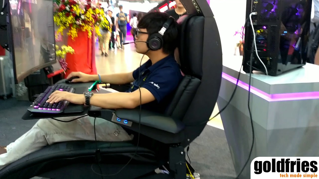 Cooler Master's Game Pod Chair Prototype at Computex 2018