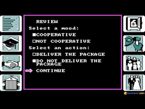 Alter Ego - Female gameplay (PC Game, 1986)
