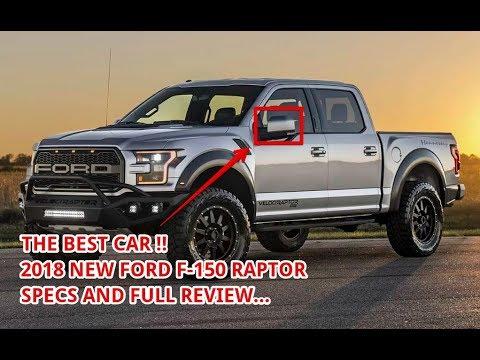 2018 Ford F150 Raptor Specs