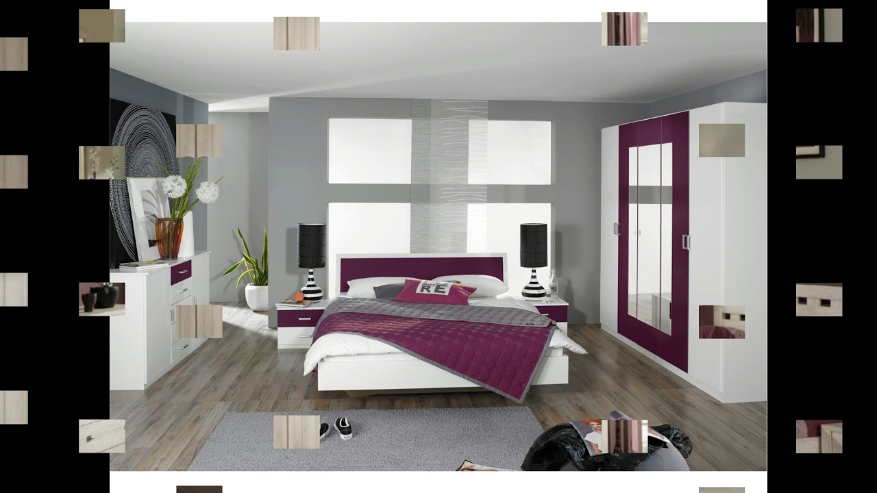 beautiful modele de chambre a coucher moderne 2. Black Bedroom Furniture Sets. Home Design Ideas