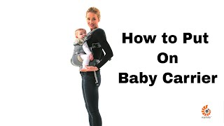 Learn how to front-inward carry in the all position 360 carrier.360 positions baby carrier: https://ergobaby.com/baby-carrier/four-position-360shop ergob...