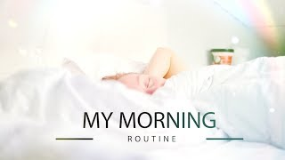 MY MORNING ROUTINE  | МОЕ УТРО!