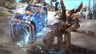 LOST ARK Online - CBT2 New Class Destroyer All Skills Training Gameplay Show