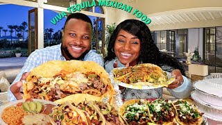 Viva Tequila Mexican Mukbang with Hubby