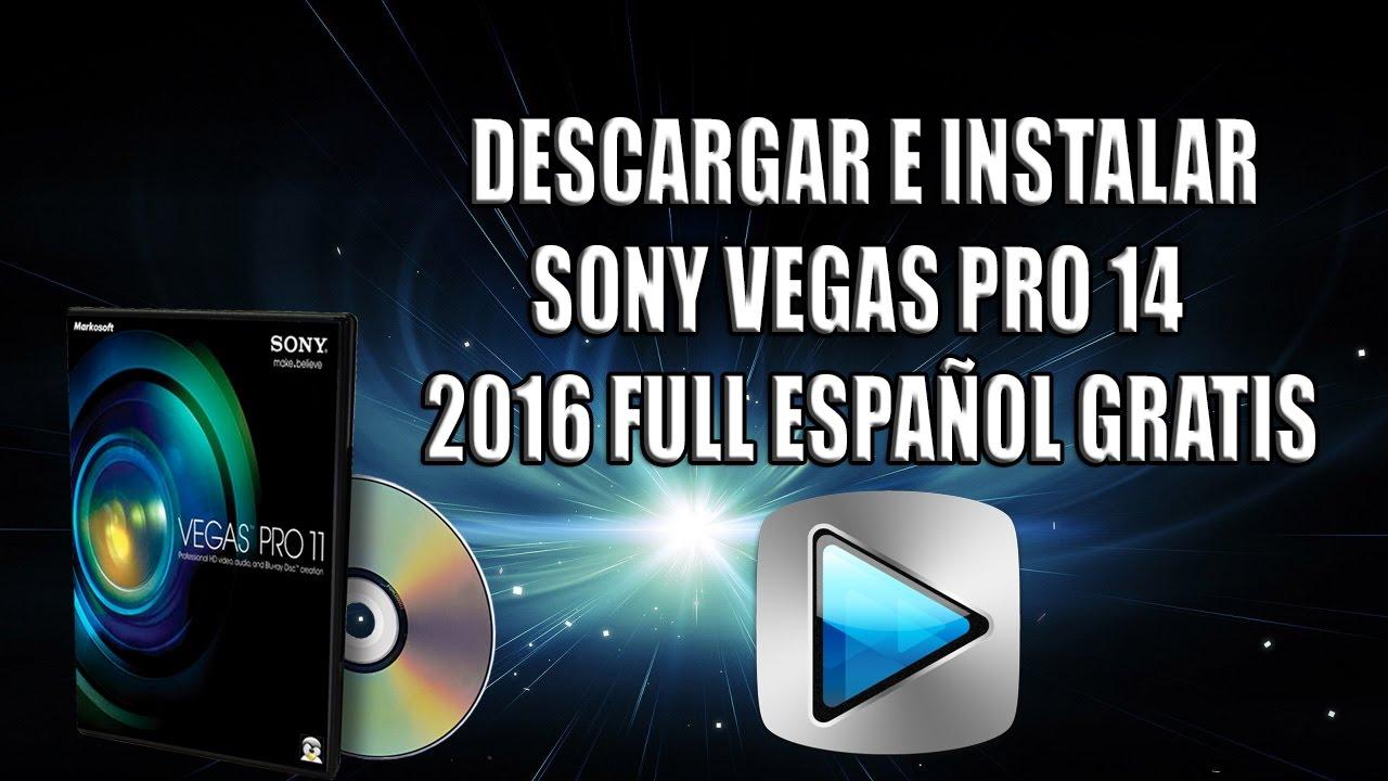 descargar sony vegas pro 11 crackeado español