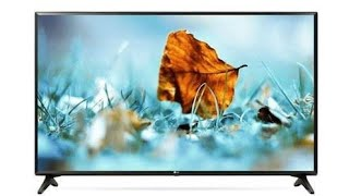 LG WebOS LG smart TV TV 32LJ573D Unboxing with full review