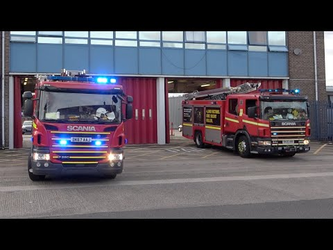 croxteth-two-pump-turnout---merseyside-fire-and-rescue-service