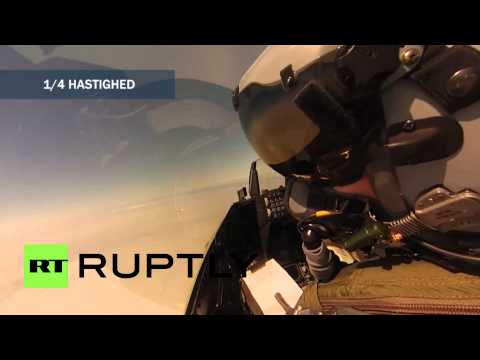 Denmark: Watch F-16 Shoot Down Drone In Mid-air Target Practice