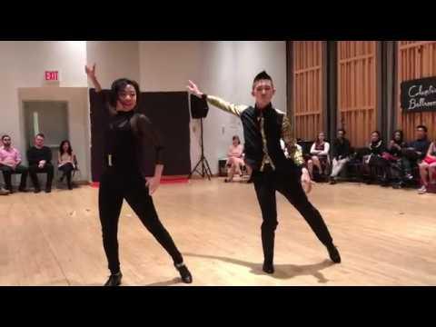 "Patrick and Hope | Dance Medley | ""24K Magic"" | CU Ballroom Spring 2017"