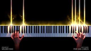 Por Una Cabeza Carlos Gardel Cover Piano Tutorial | Remake видео