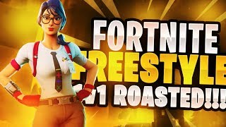 Fortnite Freestyle 1v1 Roasted!