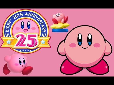 Celebrate Kirby's 25th Anniversary With A Cute Wallpaper!