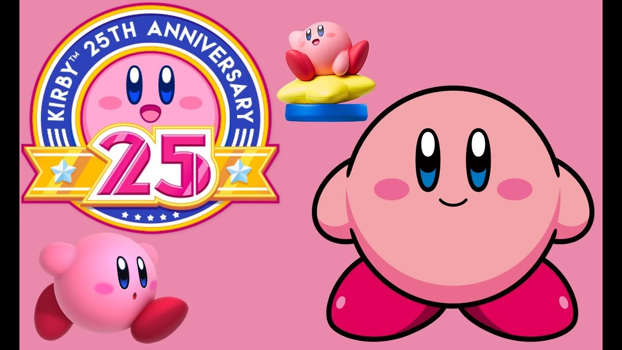 Celebrate Kirbys 25th Anniversary With A Cute Wallpaper