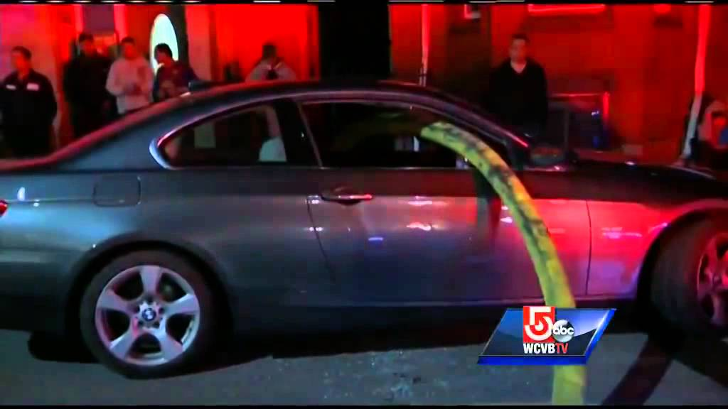 Firefighters Smash Bmw S Windows To Reach Hydrant Youtube