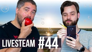 Apple WWDC a nový Samsung Galaxy Note 10? - HURÁ STREAM #44