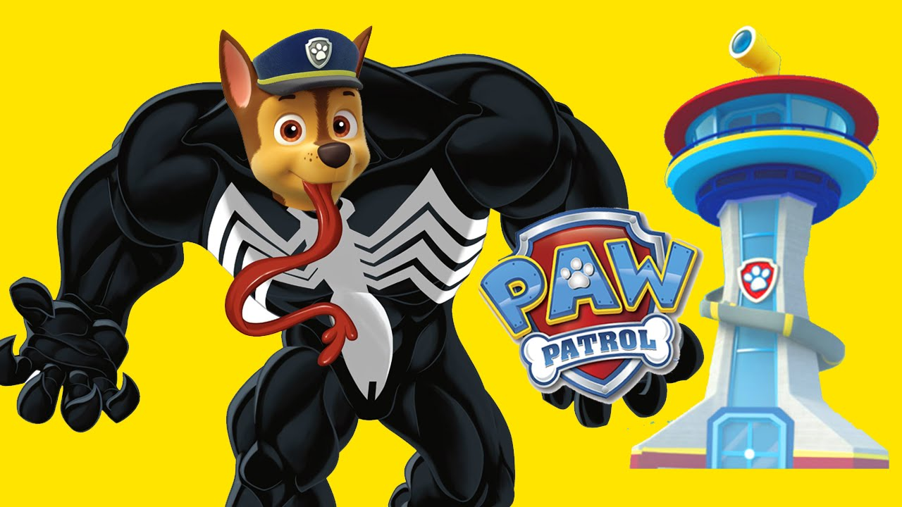 PAW PATROL Superheroes Coloring Pages For Kids EVIL Spiderman ...