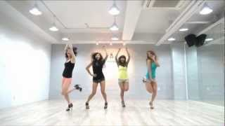 Repeat youtube video SISTAR 'So Cool' mirrored Dance Practice