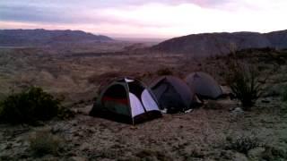 Sunrise over Carrizo Badlands