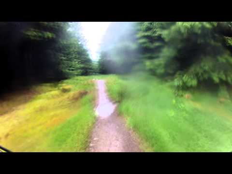 Scotland MTB Glentress black route
