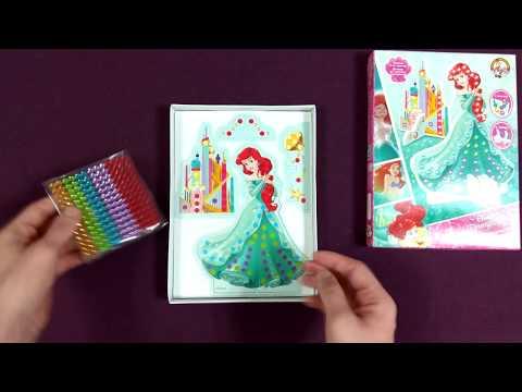 Набор для творчества из страз 3d Ариэль. Чем занять ребенка 3 лет дома девочку.