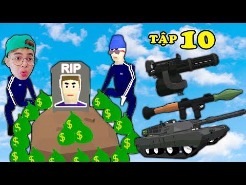 NẾU THẮNG TÊ TÊ SỞ HỮU TẤT CẢ CÁC LOẠI XE VÀ VŨ KHÍ VIP NHẤT Dude Theft Wars