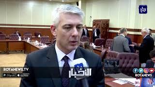 بحث مجالات التعاون وإقامة شراكات بين الصناعيين في الأردن وسلوفاكيا - (26-9-2018)