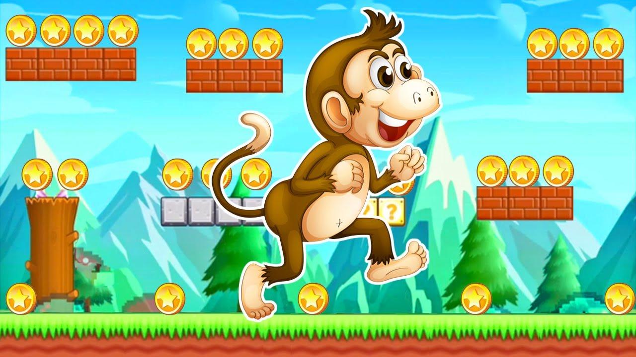 Monkey King Jungle Adventure - Aventuras de Monkey en la Selva - Juegos para Niños
