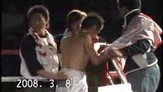 堀口祐輔VS温井隼 (ボクシングフェザー級4回戦) thumbnail
