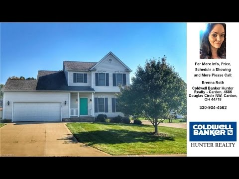 8112 Larkspur Ave Northwest, North Canton, OH Presented by Brenna Roth.