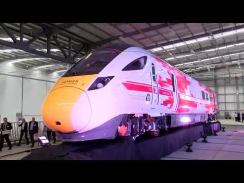 £82m Hitachi Rail plant officially opened in Newton Aycliffe creating 730 jobs