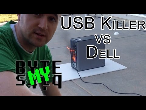 USB Flash drive that destroys computers!