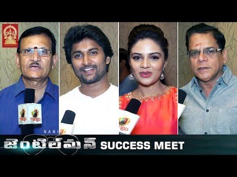 Download Nani Gentleman Movie Success Meet   Nani   Nivetha Thomas   Surabhi   Mani Sharma   Sridevi Movies
