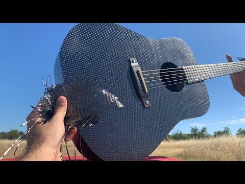 I Built A Guitar Out Of Carbon Fiber Cloth