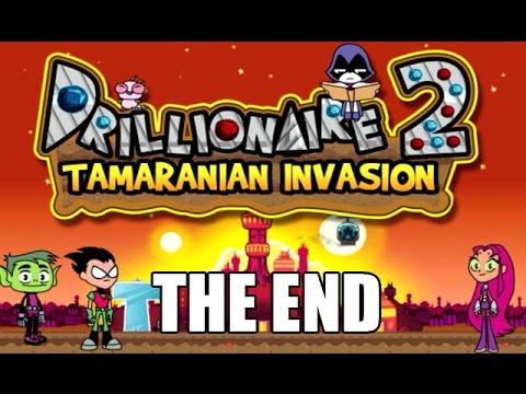 DRILLIONAIRE 2: TAMARANIAN INVASION [THE END] - Cartoon Network Games