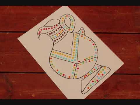 קישוט ציור לחג החנוכה