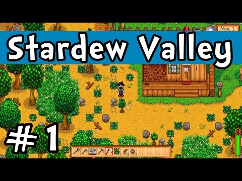 "Stardew Valley E01 ""Getting Started!"" (Gameplay Playthrough 1080p)"