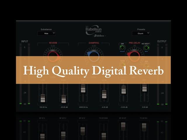 Babelonne-D- Digital Hardware Emulation Reverb - Babelson