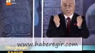 Nihat Hatipoğlu Ramazan Sahur Özel Duası