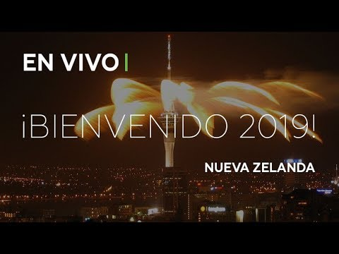 En las Islas del Pacífico y en Nueva Zelanda ya llegó el 2019 y festejaron