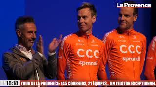 Tour de La Provence : 145 coureurs, 21 équipes... Un peloton exceptionnel !