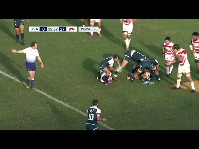 HIGHLIGHTS | USA Men's National Team XVs vs Japan in Pacific Nations Cup 2019 Finale