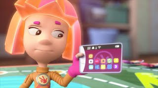 Играем и учимся с Фиксиками: детский планшет Фикситаб EXEQ P-1011