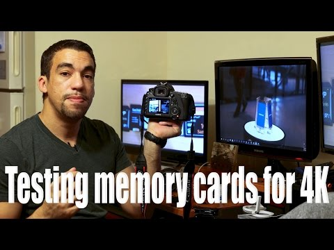 What SD and CF Cards work for 4K recording on 5D Mark IV? This test surprised me!!!