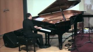 "Kemuel Roig performs ""From This Moment On"" by Cole Porter"