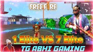 Free Fire 1 Elite VS 7 Elite Preset Alight Motion para SAMSUNG J1,J2,J3,J5,J7•A3,A5 TG ABHI GAMING