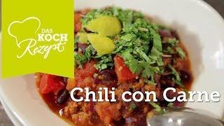 Chili con Carne Rezept - DasKochrezept.de mit Stefan Wiertz